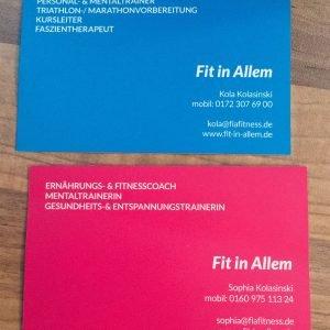 FIA – Visitenkarten