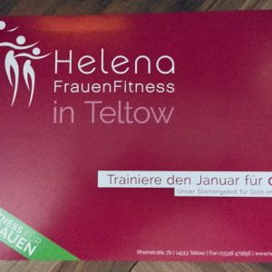 Helena FrauenFitness – Flyer
