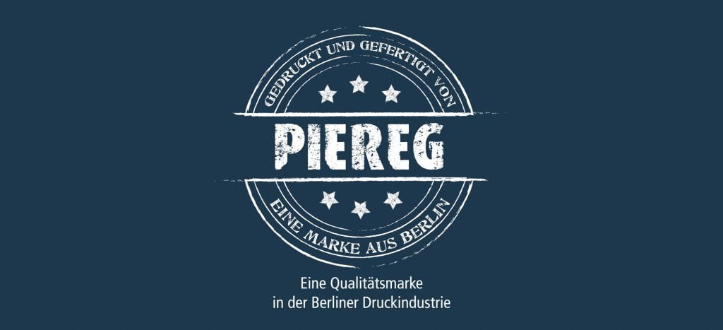 PieReg Druckcenter Berlin - Website